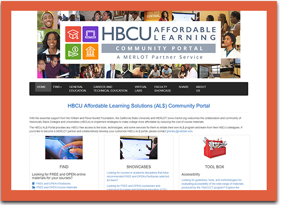 HBCU Affordable Learning Solutions