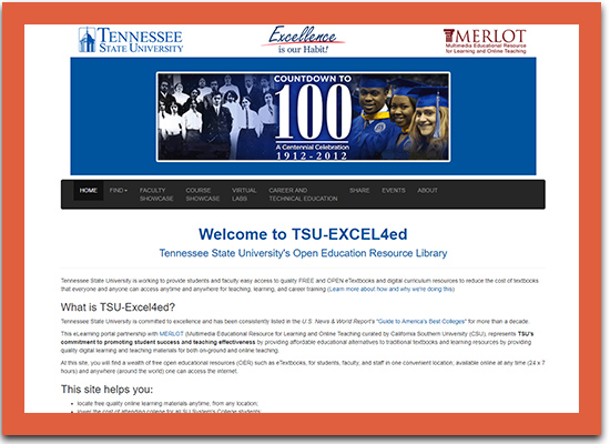 Tennessee State University Affordable Learning Solutions