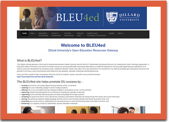Bleu4Ed Affordable Learning Solutions